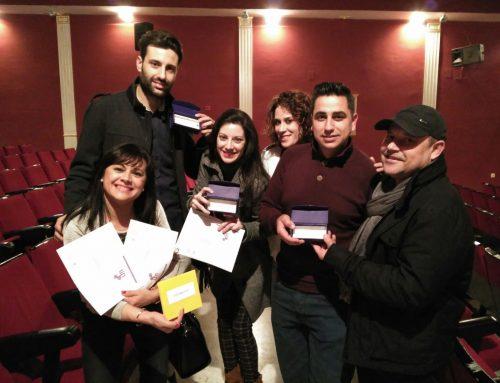 Entrega de Premios del Certamen de Teatro Aficionado de Calamonte – Diciembre 2016