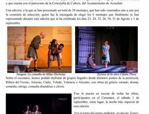 Revista Aceuchal: XXIX Certamen de Aceuchal (2018)