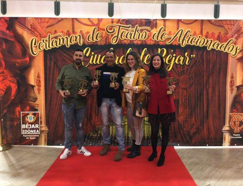 """ACEBUCHE TEATRO HACE HISTORIA: Siete premios y tres nominaciones en el XXII Certamen Nacional de Teatro """"Ciudad de Béjar"""""""