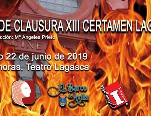 Optamos a 5 premios en el Certamen Nacional de Teatro Lagasca!